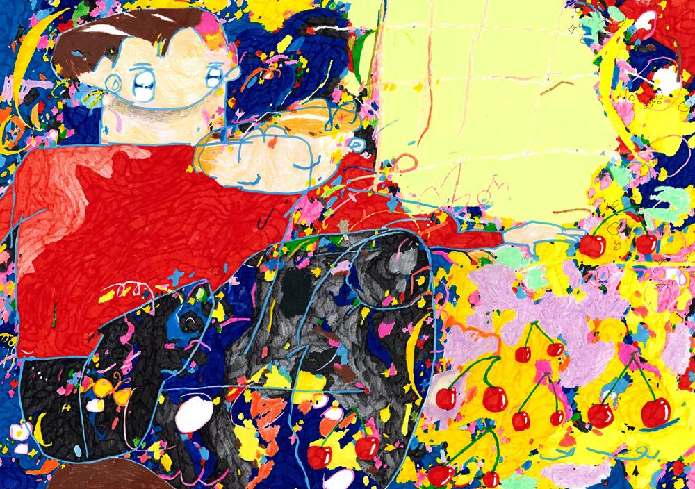 Galerie de RIVIERE展示情報 河野裕麻個展「ぼくのこころが君になる」2019.10.12 SAT - 10.27 SUN